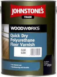 Johnstones Quick Dry Floor varnish Satin лак паркетный 5л