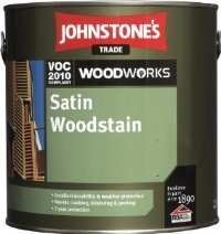 Johnstones Satin Woodstain декоративный полуматовый антисептик 5л
